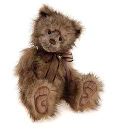 Charlie Bears Plush Grumpy Bear - 2015