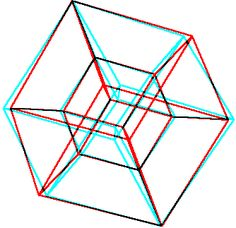 hyper cube in hyper perspective