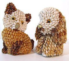 Без названия — Поделки из ракушек своими руками. Поделки из... Seashell Art, Seashell Crafts, Couture Skirts, Sea Shells, Creations, Arts And Crafts, Craft Ideas, Manualidades, Animaux