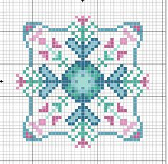 ru / Фото - biscornius punto de cruz - anavalles Hearts & Flowers in turquoises /pinks Biscornu Cross Stitch, Cross Stitch Pillow, Cross Stitch Heart, Cross Stitch Embroidery, Embroidery Patterns, Cross Stitch Designs, Cross Stitch Patterns, Cross Stitch Geometric, Square Quilt