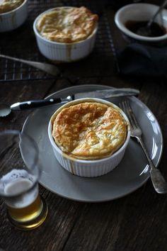 ambrosial-eats:    Mini Vegetarian Pot Pies
