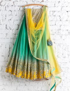 Sequin And Net Lehenga Choli Designer Lengha Chunri Party Wear Indian Sari Green Indian Lengha, Lengha Choli, Lehenga Choli Online, Red Lehenga, Cape Lehenga, Floral Lehenga, Indian Saris, Silk Dupatta, Anarkali Dress