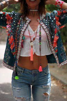 Denim Fashion, Skirt Fashion, Trendy Fashion, Boho Fashion, Fashion Outfits, Womens Fashion, Looks Hippie, Mode Hippie, Estilo Hippy