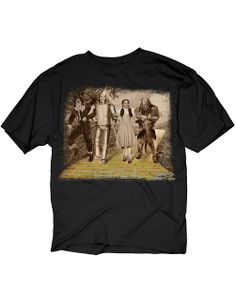 Wizard Of Oz Dorothy Lion Scarecrow Tin Man Stroll T-Shirt