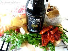 Farneticazioni Culinarie: Paccheri con cardoncelli, pomodori secchi e pancetta