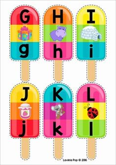 Summer Popsicle Alphabet and Beginning Sounds - FREE Printable FREE Literacy Center - Summer Beginning Sounds Kindergarten Centers, Preschool Learning, Kindergarten Activities, Literacy Centers, Preschool Activities, Kids Learning, Sound Free, Beginning Sounds, Teaching Aids