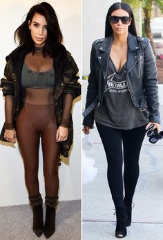 Kendall Jenner, Gigi Hadid and Kim Kardashian Wear Leggings as Pants | InStyle.com