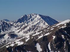 La Plata Peak 14,336'. You will be 14er number two!