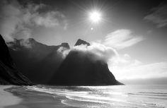 Kvalvika Beach, Lofoten Islands,Norway