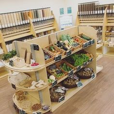 Example of a zero waste grocery