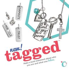 Origami Owl tagged collection Fall 2013