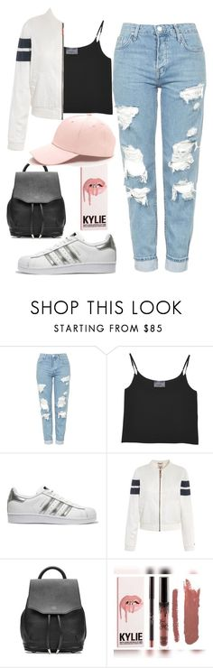 """Bez tytułu #26"" by claressbeauty on Polyvore featuring moda, Topshop, Antipodium, adidas Originals, Tommy Hilfiger, rag & bone i Kylie Cosmetics"