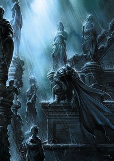 Batman • The comic art of Anthony Jean