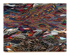 On Some Faraway Beach - Jayson Musson - Salon 94 |  Mercerized cotton stretched on linen