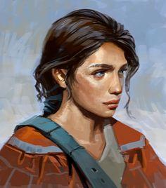 Character portrait ENRIN by Stefana-Tserk on deviantART