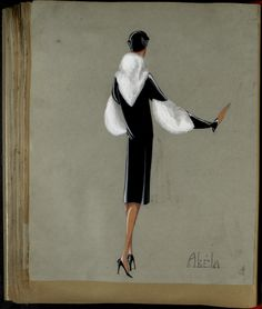 AKELA Paris ETE 1929 © Patrimoine Lanvin. #Lanvin125