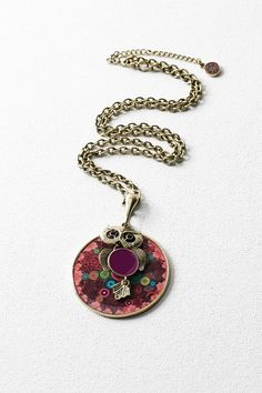 Desigual Owl pendant necklace. Discover the new arrivals in our accessories collection!