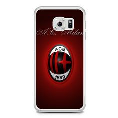 Ac Milan Samsung Galaxy S6 Edge Case