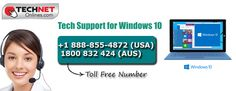 Get #Windows10 #Technical #Support Online