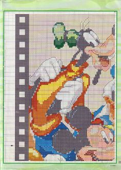 Mickey & Friends on Film Strip 2/5