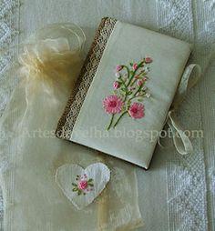 Artes da Velha: Caderno em tons de primavera :))