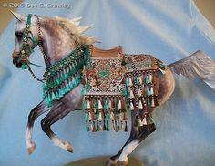 Arabian Costumes By Dee C. Crawley - model horse tack
