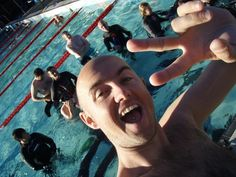 One of our PADI Course Directors... Carl teaches most of our Instructor Development here at Abyss. High five Carl...