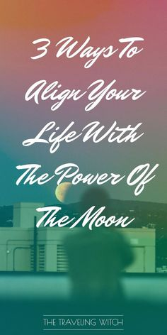 3 Ways To Align Your Life With The Power Of The Moon // Witchcraft // Magic // The Traveling Witch Moon Spells, Magick Spells, Wicca Witchcraft, What Is Spirituality, Full Moon Ritual, Witchcraft For Beginners, Moon Witch, Moon Signs, Candle Magic