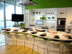 Kitchen Design Classes New Professional Cooking Class Kitchen  Creating A Home  Pinterest Inspiration