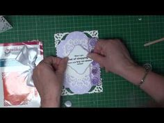 Tutorial for making Spellbinders Filigree Hinged Cards ( card-making-magic.com)