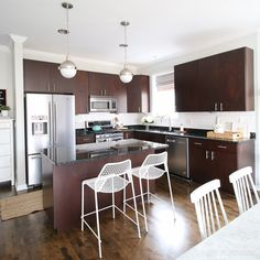 We bought a 2 bedroom, 2 bath condo in the city of Chicago. Come follow along as we spruce it up to reflect our style!