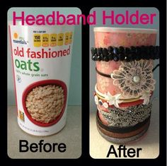 Headband Holder why did I not think of that ??