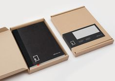 Little Black Book - Logo and stationery design by Berg now Freytag Anderson