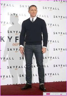 """Daniel Craig """"James Bond"""" is my ideal figure of how I plan to stylize as a mature man. Stop/praise Fashion Jesus."""