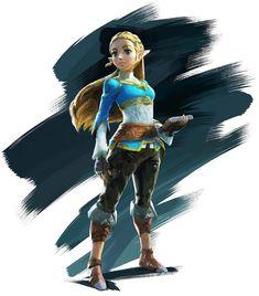 The Legend of Zelda: Breath of the Wild, Princess Zelda