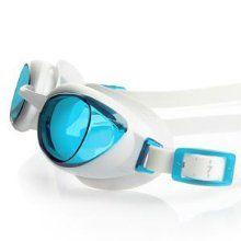 Speedo Women's Aquapure Female Goggles - White/Blue, One Size: Amazon.co.uk: Sports & Outdoors
