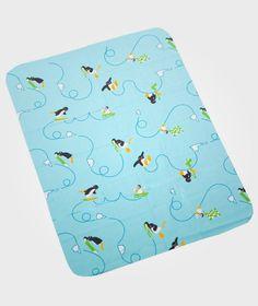 Blanket Pingu Blue