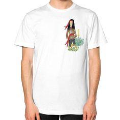 Native Boy Unisex T-Shirt (on man)