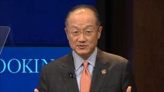 Developing world challenges by World Bank President Jim Yong Kim
