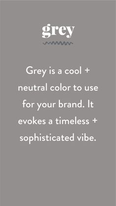 The Psychology of Color in Branding by Pace Creative Design Studio i love the color grey. Nice basic color which blends with everything. Web Design, Creative Design, Design Trends, Digital Marketing Strategy, Content Marketing, Branding Design, Logo Design, Branding Ideas, Color Psychology