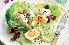 egg garden salad