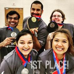 Congrats to our #TableTennis team who brought home the first gold at #CorporateChallenge!