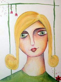 In diesem Kurs kannst du Portrait malen lernen - ganz einfach und unkompliziert, auch ohne Vorkenntnisse. Lerne malen mit Clarissa.