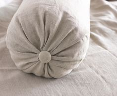 Linen Bolster cushion