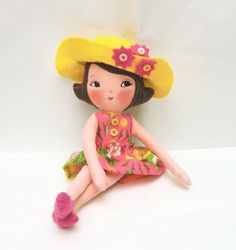 Art Doll Pattern PDF DIY #diy #plush #dolls #dollies #patternpdf