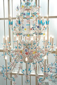 Murano Chandelier by Cerith Wyn Evans @ 'The Vincent' biannual award for contemporary art in Europ @ Stedelijk CS, Amsterdam, 2006