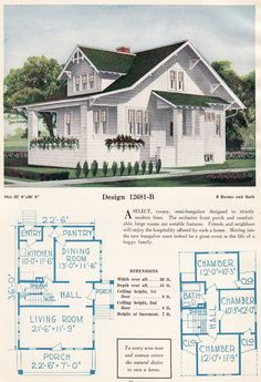 Approx 1300sf 3/2 vintage bungalow with large living/dining spaces downstairs and bedchambers upstairs