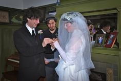 Amanda Palmer and Neil Gaiman marry Wedding Blog, Our Wedding, Dresden Dolls, Amanda Palmer, Neil Gaiman, Get Up, Marry Me, Otter, People