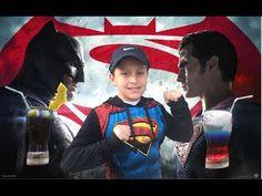 DIY Batman Vs Superman drinks - Batman contra Superman (bebida sin alcohol)