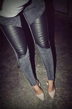24b1538043986 540800 300194806775654 1965835051 n.jpg (424×638) Leather Jeans